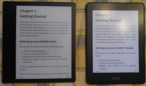 Kindle Voyage vs Kindle Oasis – Review