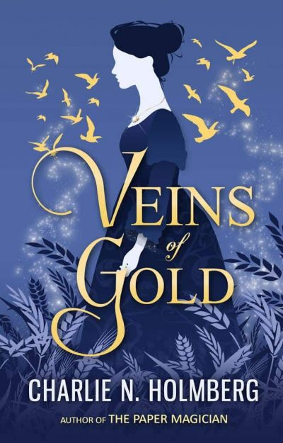 Cover Reveal – Veins of Gold