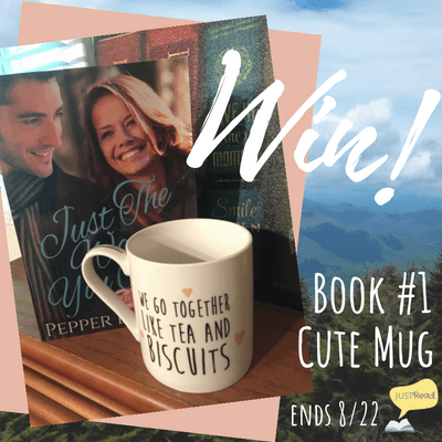 "print copy of Just the Way You Are (book #1 in the series) a cute 'Britallachian' mug - ""We go together like tea and biscuits"""