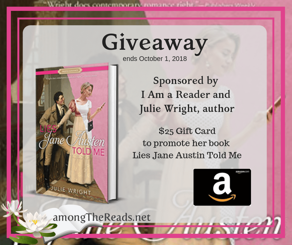 $25 Amazon Gift Code or Paypal Cash from Julie Wright