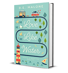 Falling in Love – Love Like Water by D.E. Malone – Giveaway