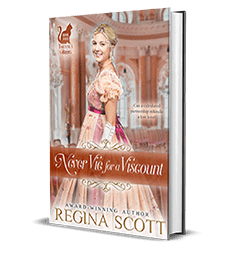 Never Vie for a Viscount by Regina Scott