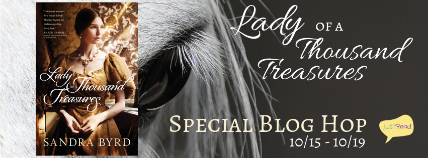 Interview with Sandra Byrd, Author of Lady of a Thousand Treasures, Scavenger Hunt