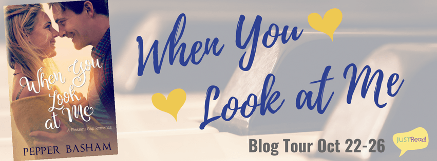 When You Look at Me by Pepper D. Basham - Book Review