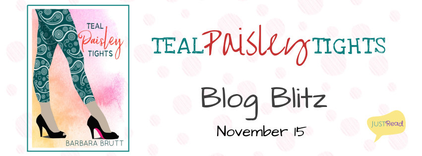 Teal Paisley Tights by Barbara Brutt - Spotlight, Excerpt, Giveaway