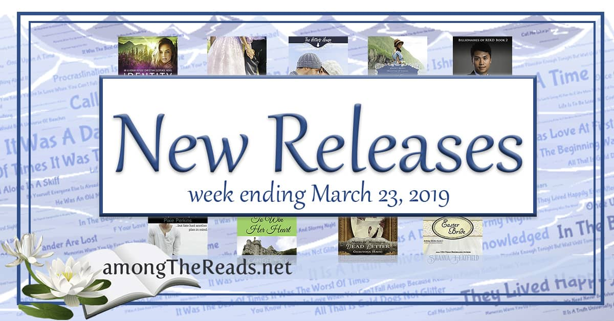 New Releases and Giveaways this Week with Previews – March 23, 2019