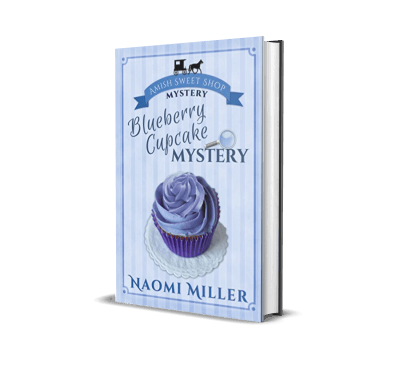 Blueberry Cupcake Mystery by Naomi Miller – Book Review, Preview