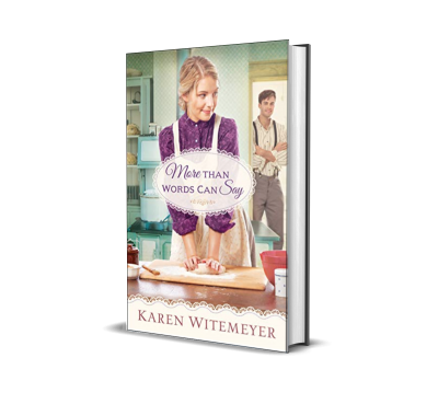More Than Words Can Say by Karen Witemeyer – Book Review, Preview