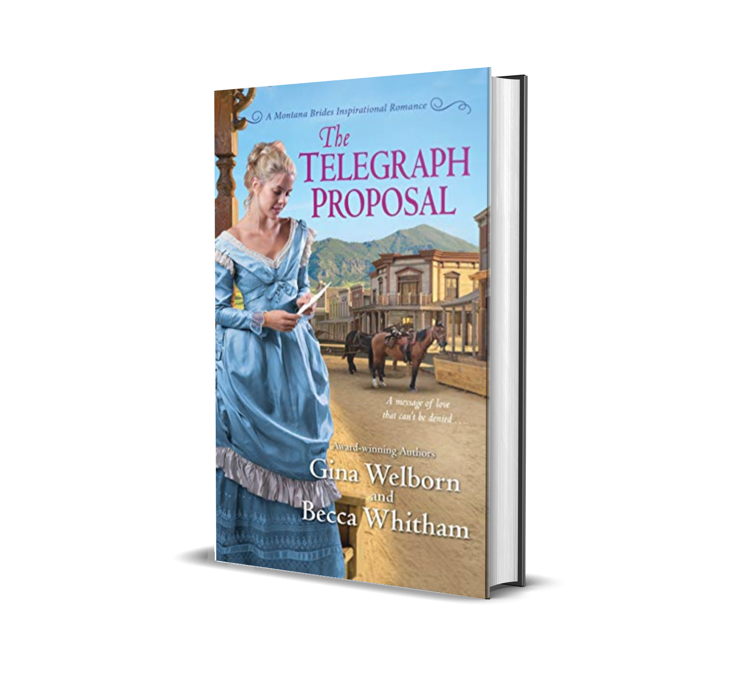 The Telegraph Proposal  by Gina Welborn, Becca Whitham