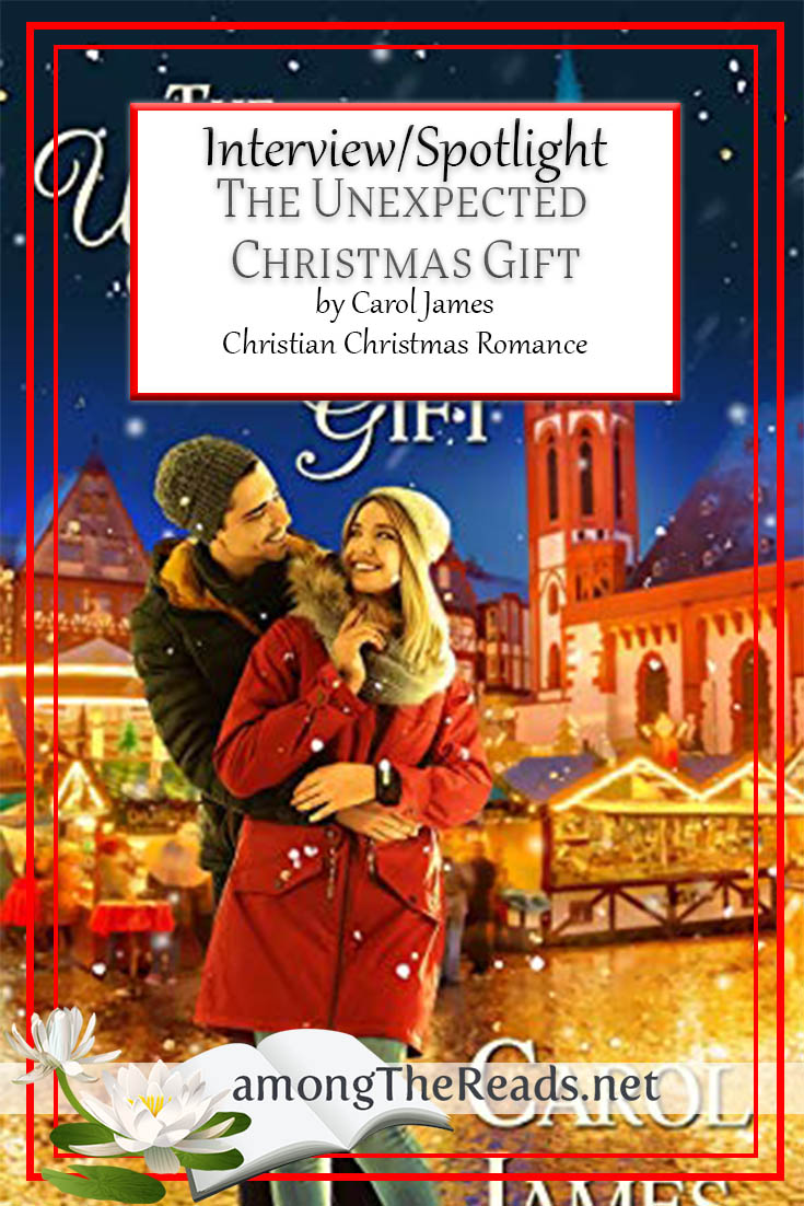 The Unexpected Christmas Gift by Carol James – Interview and Spotlight
