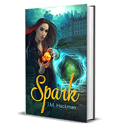 Spark by J.M. Hackman – Spotlight, Preview, Author Interview