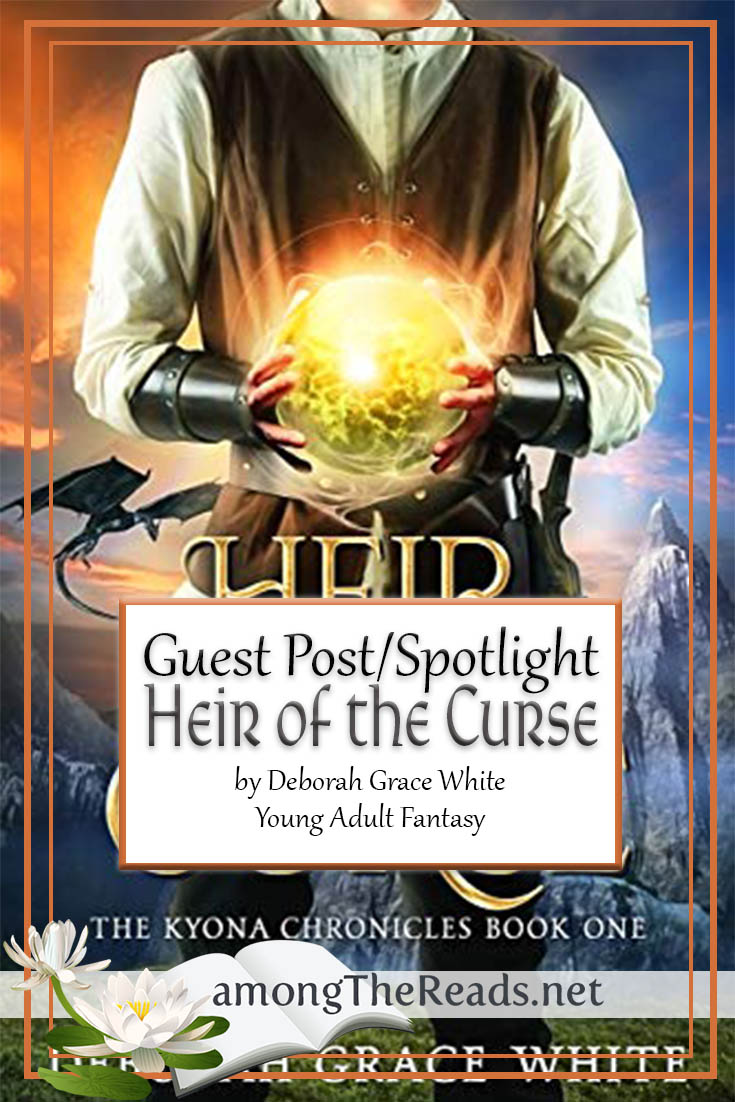 Deborah Grace White – Guest Post – Debut Fantasy Novel