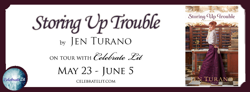Storing Up Trouble by Jen Turano - Book Review, Preview